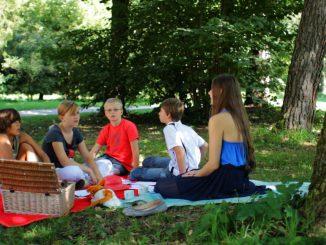 Christiane mit Kindern
